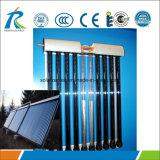 Todos os fios de aço inoxidável tubo colector solar térmico