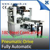 Сделанное портноем польностью автоматическое ведерко 5-Gallon 18L стальное может делающ двойной сварочный аппарат пятна