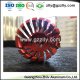 L'alta qualità il radiatore di alluminio anodizzato della pressofusione per la lampada del LED