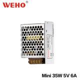 MiniStromversorgung der größen-35W 110V/220VDC eingegebene Minider größen-5volt
