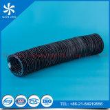 Conducto flexible reforzado del PVC con un acero más grueso