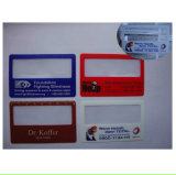 Lupa material Hw-802 do PVC do Magnifier novo do cartão de crédito do nome do estilo