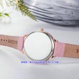 Relojes de encargo de la manera del reloj de la insignia (WY-17033)