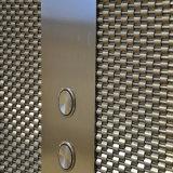 Maglia decorativa dello schermo del metallo, rete metallica architettonica