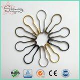 Spilla di sicurezza fresca della pera del metallo di colore di standard delle azione 22mm