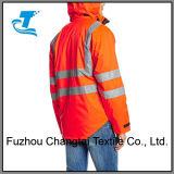 Les hommes Vêtements de travail de la sécurité Veste réfléchissante Hi-Vis