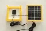 6V 2W 다채로운 강화 유리는 Toys& 건전지 책임을%s 태양 전지판을 박판으로 만들었다