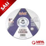 Disco del corte para el metal - con el centro deprimido de la tuerca 5/8-11
