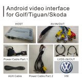 Percorso Android dell'interfaccia di lettore DVD dell'automobile per golf 7 di VW con Mirrorlink