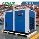 90 Kilowatt 120 HP-ölfreie Öl-weniger Schrauben-Luftverdichter
