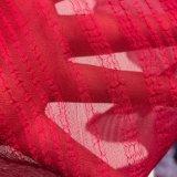 mousseline de soie cationique de la piste 75D+68d*68d pour la robe de vêtement d'écharpe