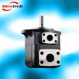 유압 조정 진지변환 기업 응용 (Parker Dension, shertech T6D)를 위한 단 하나 바람개비 펌프 T6 Serie T6d
