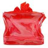 ロゴのショッピング・バッグが付いている再使用可能な防水ビニール