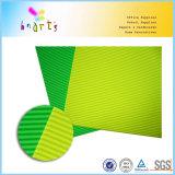 Leuchtstoff gewölbtes geriffeltes Papier A4