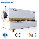 Le cisaillement du faisceau hydraulique de rotation de la guillotine Matchine de coupe de la machine