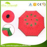 A melancia manual a mais barata guarda-chuva impresso de Sunbrella