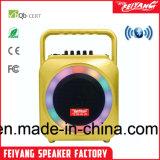Mini Bluetooth altoparlante attivo ricaricabile di Feiyang/Temeisheng con l'indicatore luminoso Colourful del LED --F105s