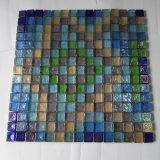 Piso de azulejos de cuarto de baño mosaicos de vidrio