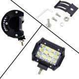 Comercio al por mayor minera de camiones Offroad 4X4 36W tres filas de la barra de luz LED lámpara de trabajo