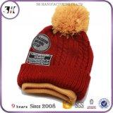 Seu próprio logotipo o Slouch que vende o Beanie dos chapéus livre POM