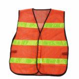 Segurança de laranja de alta visibilidade colete reflector em GUANGZHOU