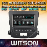 미츠비시 Outlander를 위한 Witson Windows Touch Screen Car DVD