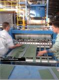 La azotea escalona la cadena de producción de la ripia del asfalto de Colorized de la hoja de la ripia del asfalto de la máquina