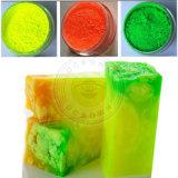 Natural puro de neón de mica de la fabricación de jabón en polvo pigmentos fluorescentes