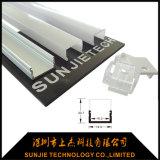 LED 단면도를 위한 플라스틱 알루미늄 밀어남 엔드 캡