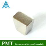 N48m de Magneet van de Motor van het Segment van het Trapezoïde met Magnetisch Materiaal NdFeB