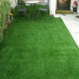 Campo de relva artificial verde para decoração de casa