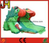 Diapositive de dinosaure gonflable attrayant pour la vente