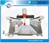 O PFE 5 Router CNC de moldagem do Eixo central de processamento da máquina
