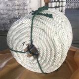 6 Strang-umsponnenes flaches verdrehtes Seil-Atlas-Nylonseil