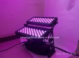 屋外IP65 120*10W RGBW 4 In1 LED都市カラー壁の洗濯機
