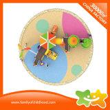 Le matériel extérieur de jeu de jouets multifonctionnels de gosses glisse pour des enfants