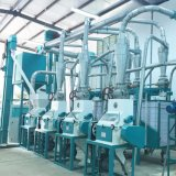 30t/24h 옥수수 가루 맷돌로 가는 플랜트의 최고 옥수수 식사 기계