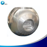 Bola revestida del carburo del cromo para las vávulas de bola