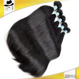 Cheveu 10A, cheveux humains brésilien non transformé de 100% normaux