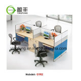 木のオフィス用家具のモジュラーオフィスの区分の机Yf-G0301