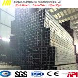 Galvanisiertes geschweißtes Quadrat-/Vierecks-Stahlgefäß, 100*200*3.5mm