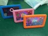 Kern 7 Duim 512MB of 1GB en 8GB of 16GB het Multi Kleurrijke Geval van de Vierling van de Tabletten van Kiddie van de Opslag