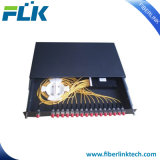 Zet het Optische Rek van de vezel PLC het Comité van het Flard van de Splitser Singlemode Sc/LC/St/FC op