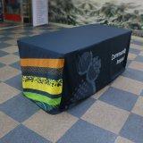 Imprimé personnalisé équipé d'étirement Spandex rectangulaire avec logo capot table