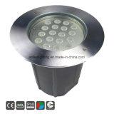 24VDC IP68 RGB屋外の水中LEDの照明