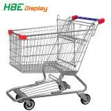 A roda do carrinho de mão de compras PU Travelator Castor
