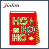 2018의 새로운 크리스마스 디자인 쇼핑 운반대 종이 선물 부대