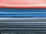 양이온 자카드 직물 의복을%s 줄무늬 폴리에스테 스판덱스 신축성 직물