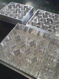 Cubierta de aluminio que muele del CNC para la telecomunicación usar