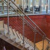 중국 강화 유리 계단 방책 또는 손잡이지주